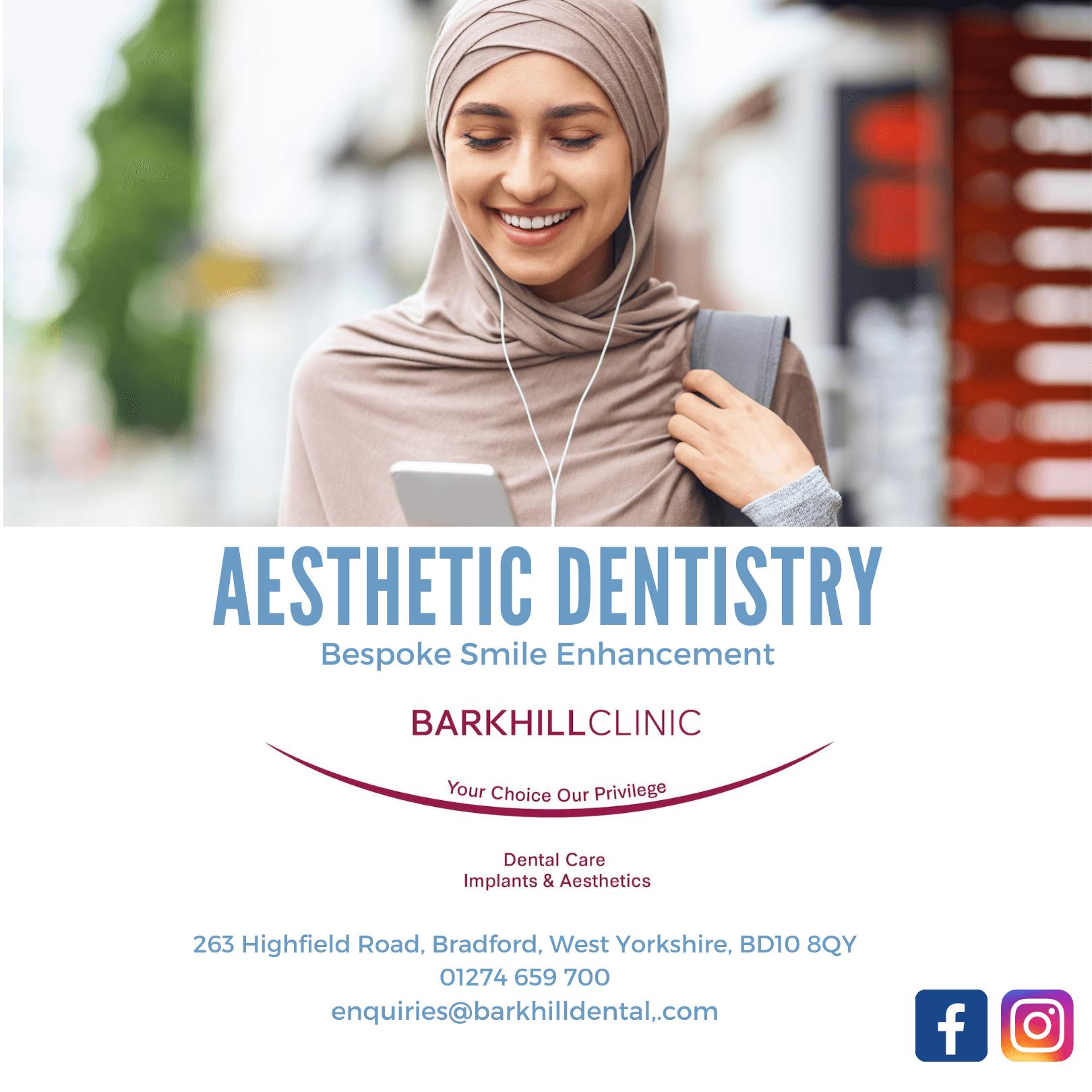 Aesthetic Dentistry Banner