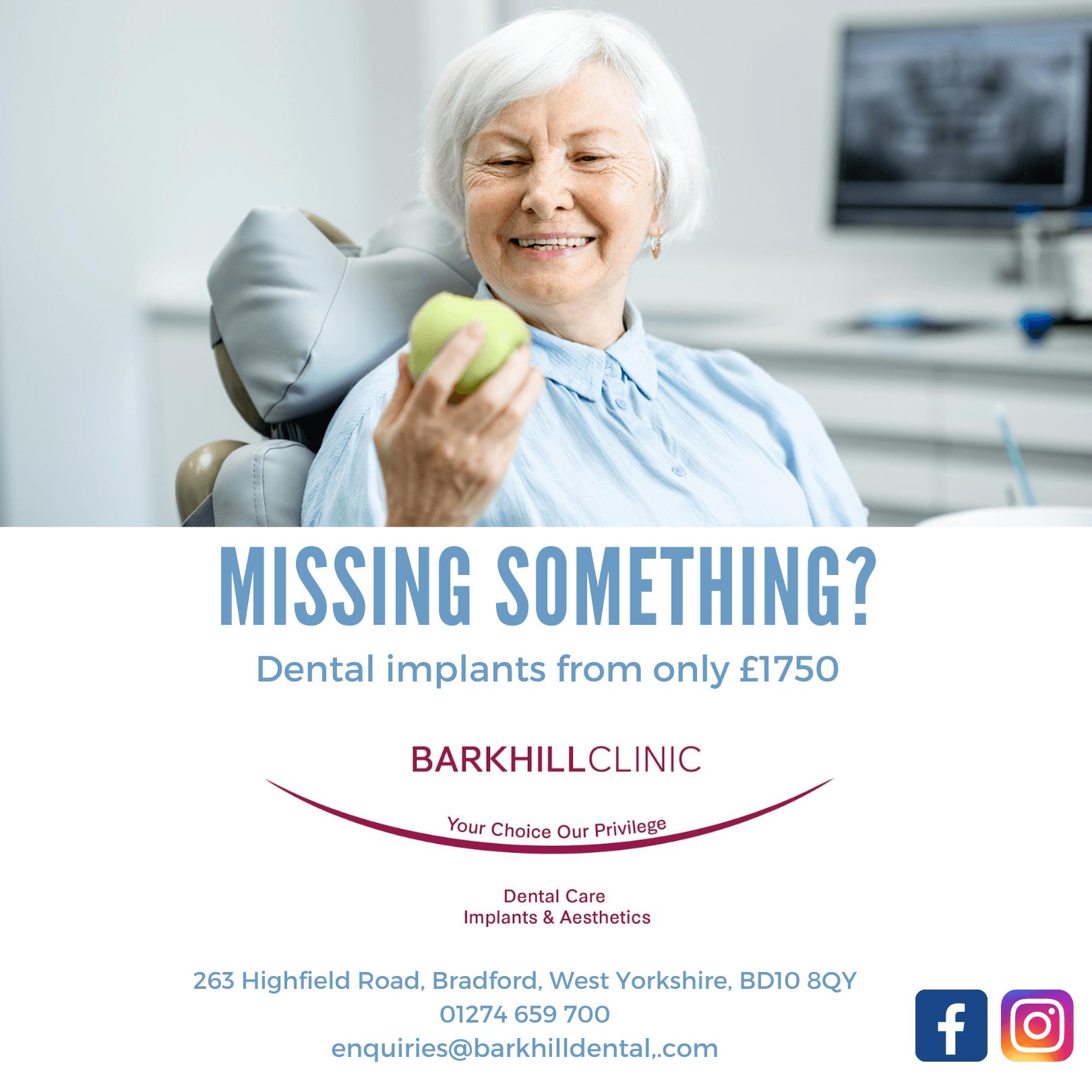 Dental Implants Banner