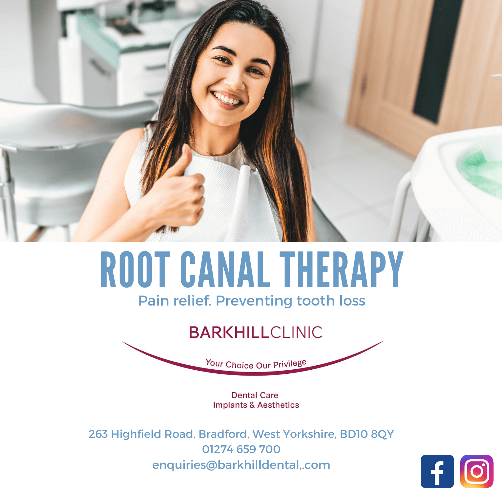 Root Canal Therapy Banner